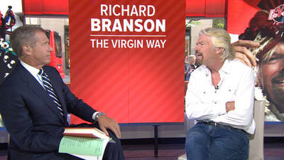 News video: Sir Richard Branson going into space in early 2015